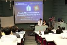 School of Biomedical Sciences Postgraduate Research Day (29 October 2010)