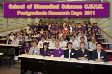 School of Biomedical Sciences Postgraduate Research Day 2011 (27-28 October 2011)