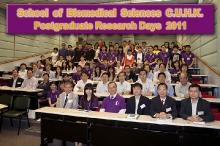 School of Biomedical Sciences Postgraduate Research Day 2011 (27-28 October 2011)